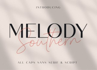 Melody Southern Duo Font