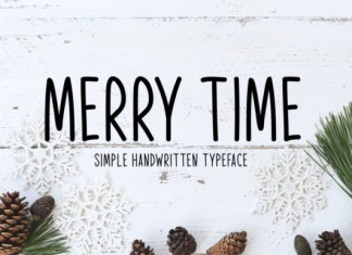 Merry Time Font