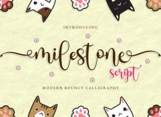 Milestone Font