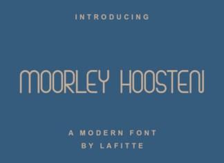Moorley Hoosten Font