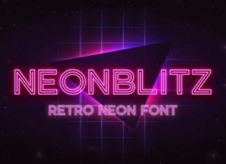 Neonblitz Font