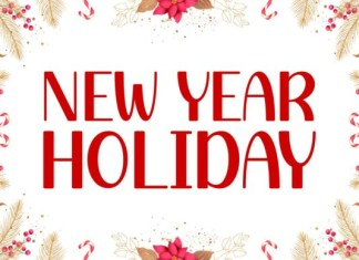 New Year Holiday Font
