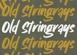 Old Stingrays Font