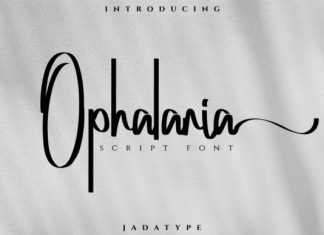 Ophalaria Font