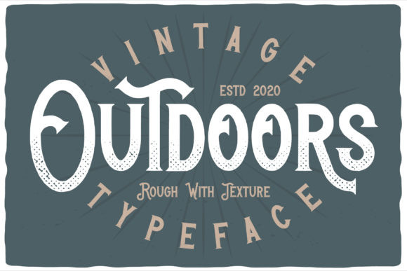 Outdoors Font