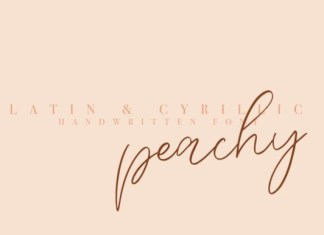 Peachy Font