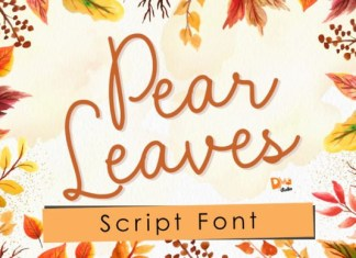 Pear Leaves Font