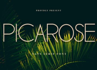 Picarose Font