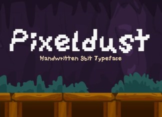 Pixeldust Font