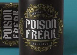 Poison Freak Font