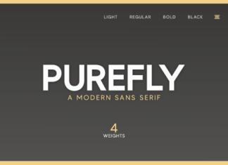 Purefly Font