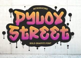 Pylox Street Font