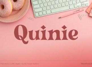 Quinie Font