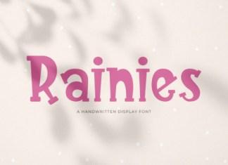 Rainies Font