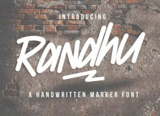 Randhu Font