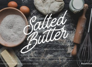 Salted Butter Font