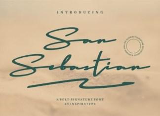 San Sebastian Font