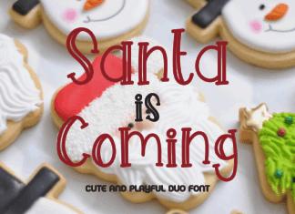 Santa is Coming Font