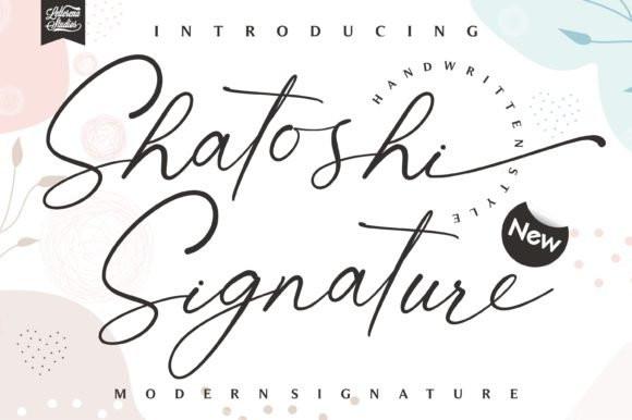Shatoshi Signature Font