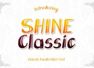 Shine Classic Font