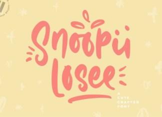 Snoopii Loosee Font