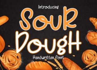 Sour Dough Font