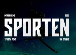 Sporten Font