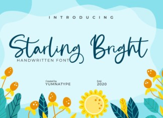 Starling Bright Font