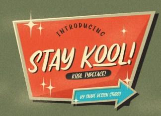 Stay Kool Font