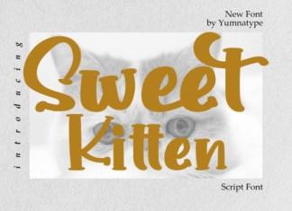 Sweet Kitten Font