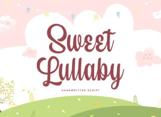 Sweet Lullaby Font