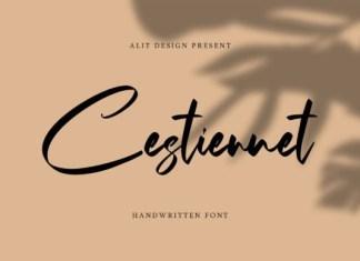 The Cestiennet Font
