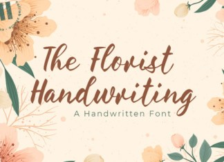 The Florist Handwriting Font