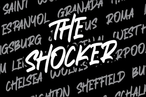 The Shocker Font