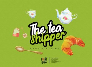 The Tea Shipper Font