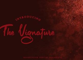 The Vignature Font