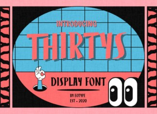 Thirtys Font