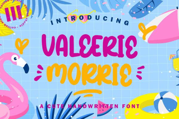 Valerrie Morrie Font