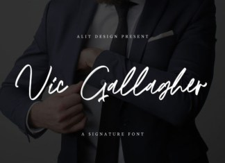 Vic Gallagher Font