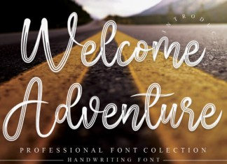 Welcome Adventure Font