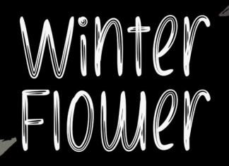 Winter Flower Font