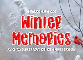 Winter Memories Font