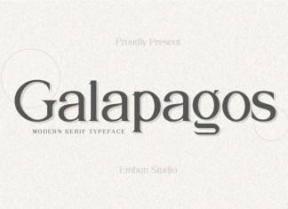 Galapagos Font