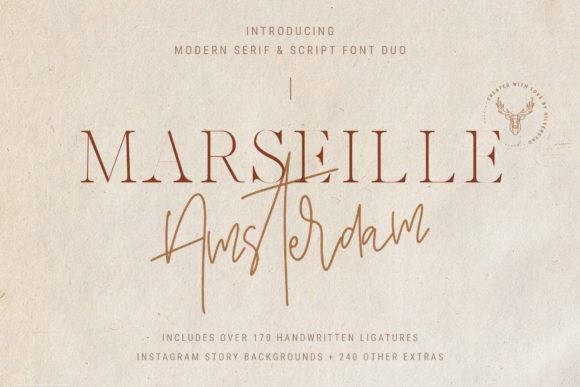 Marseille & Amsterdam Duo Font