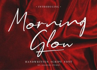 Morning Glow Font