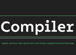 Compiler Font