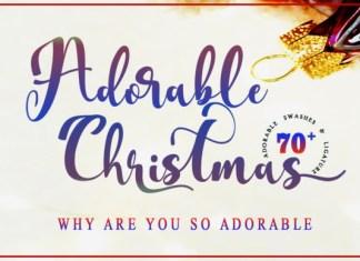 Adorable Christmas Font