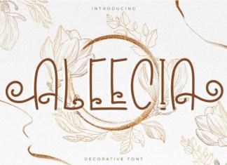 Aleecia Font