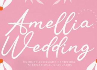 Amellia Wedding Font