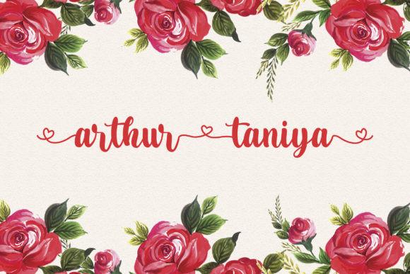 Arthur Taniya Font
